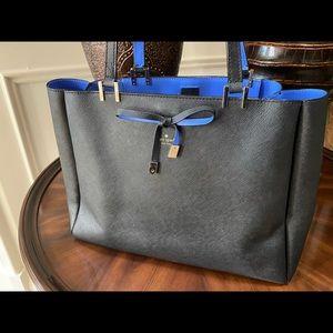 Kate Spade Black and Periwinkle Blue Bag